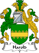 English Coat of Arms for Harold