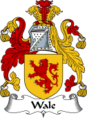 English Coat of Arms for Wale