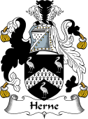 English Coat of Arms for Herne