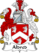 English Coat of Arms for Aldred
