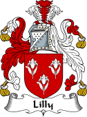 English Coat of Arms for Lilly