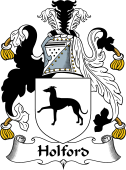 English Coat of Arms for Holford