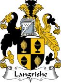 Irish Coat of Arms for Langrishe