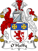 Irish Coat of Arms for O'Haffy or Haughey