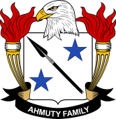 American Coat of Arms for Ahmuty