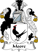 English Coat of Arms for Moore I