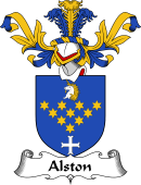 Coat of Arms from Scotland for Alston