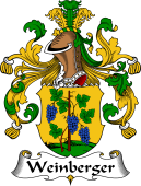 German Wappen Coat of Arms for Weinberger
