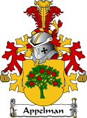 Dutch Coat of Arms for Appelman