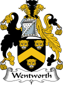 English Coat of Arms for Wentworth