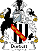 English Coat of Arms for Burdett