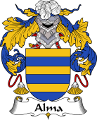 Portuguese Coat of Arms for Alma