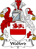 English Coat of Arms for Walford