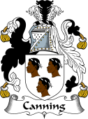 English Coat of Arms for Canning