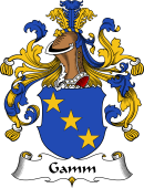 German Wappen Coat of Arms for Gamm