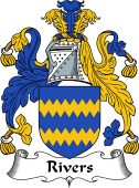English Coat of Arms for Rivers I