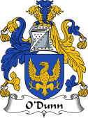 Irish Coat of Arms for O'Doinn, Dunn, Doyne