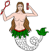 Mermaid with Comb and Mirror