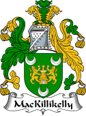 Irish Coat of Arms for MacKillikelly