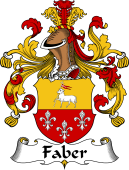 German Coat of Arms for Faber
