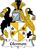 Irish Coat of Arms for Glennon or Glenane