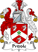 English Coat of Arms for Priddle