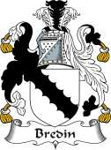 Irish Coat of Arms for Bradden or Bredin