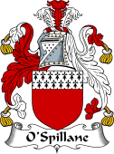 Irish Coat of Arms for O'Spillane or Spelman
