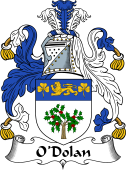 Irish Coat of Arms for O'Dolan I