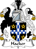 English Coat of Arms for Hacker