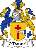Irish Coat of Arms for O'Donnell