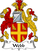 English Coat of Arms for Webb