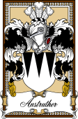 Scottish Coat of Arms Bookplate for Anstruther