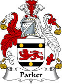 Irish Coat of Arms for Parker