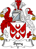 English Coat of Arms for Spry