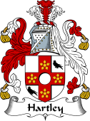 English Coat of Arms for Hartley