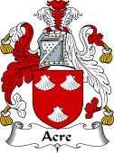 English Coat of Arms for Acre