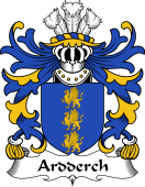 Welsh Coat of Arms for Ardderch (AP MOR AP TEGERIN)