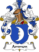 German Wappen Coat of Arms for Ammon