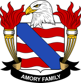 American Coat of Arms for Amory