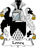 English Coat of Arms for Loney