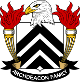 American Coat of Arms for Archdeacon