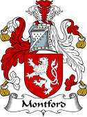 English Coat of Arms for Montford