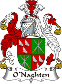 Irish Coat of Arms for O'Naghten