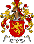 German Wappen Coat of Arms for Sandberg