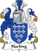 English Coat of Arms for Harling