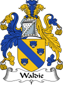 English Coat of Arms for Waldy or Waldie