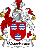 English Coat of Arms for Waterhouse II