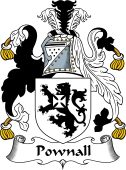 English Coat of Arms for Pownall