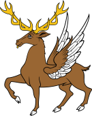 Stag Trippant Winged